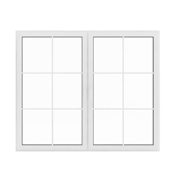 White Window (143.5 x 171 cm)