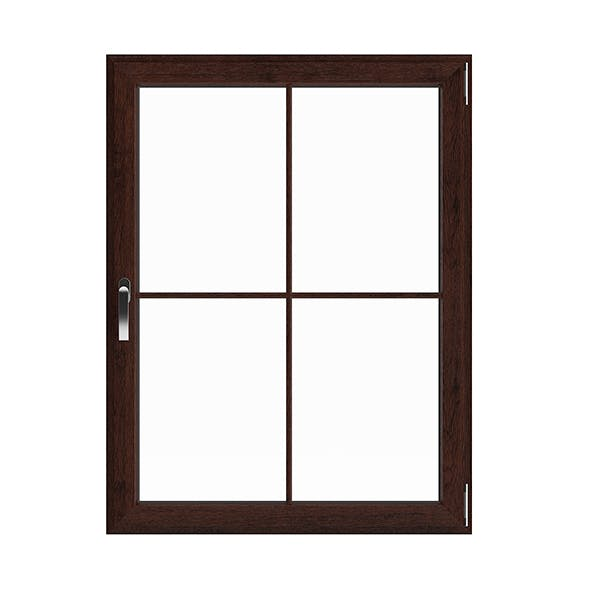 Wooden Window (113.5 x 86.5 cm) - 3DOcean Item for Sale