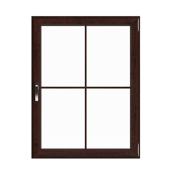 Wooden Window (113.5 x 86.5 cm)