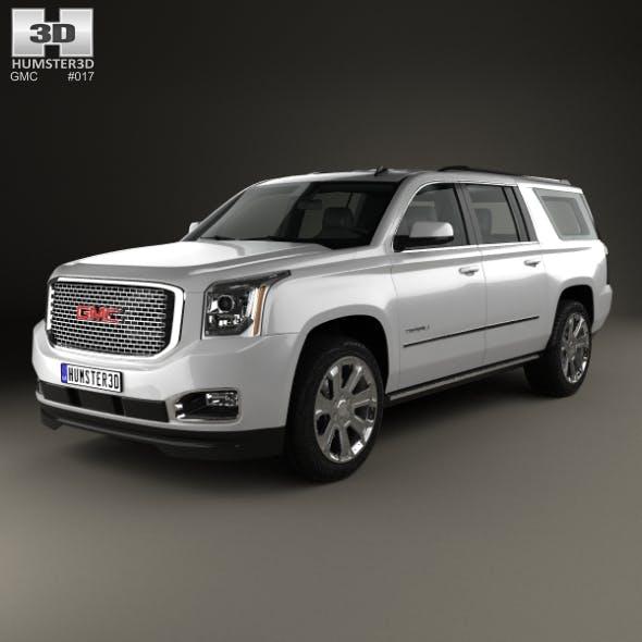 GMC Yukon XL Denali 2014 - 3DOcean Item for Sale