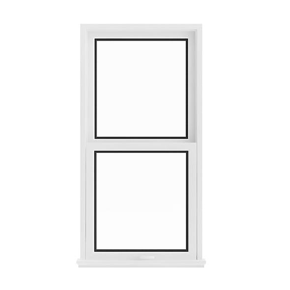 White Window (143.5 x 72 cm)