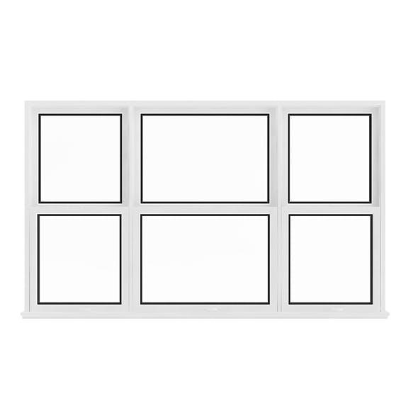 White Window (143.5 x 238 cm)
