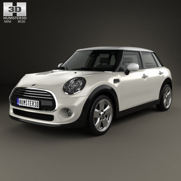 Mini Cooper 5-door 2014 - 3DOcean Item for Sale
