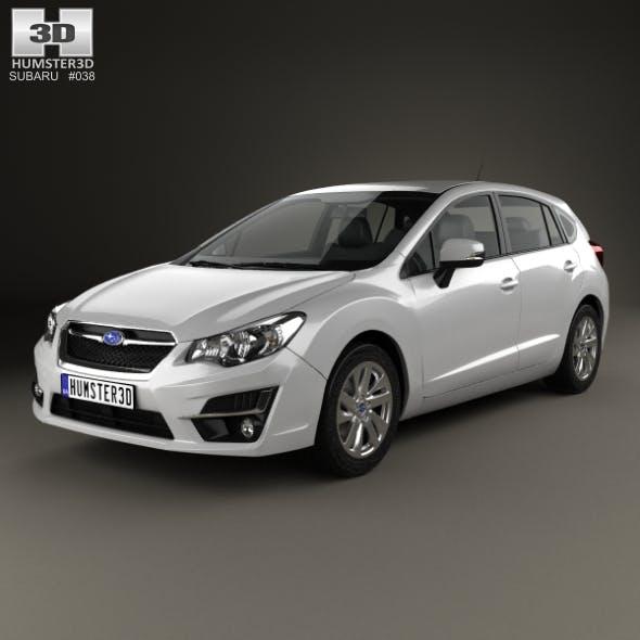 Subaru Impreza hatchback 2015 - 3DOcean Item for Sale