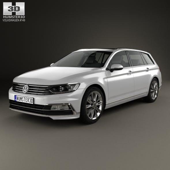 Volkswagen Passat (B8) R-Line 2015 - 3DOcean Item for Sale