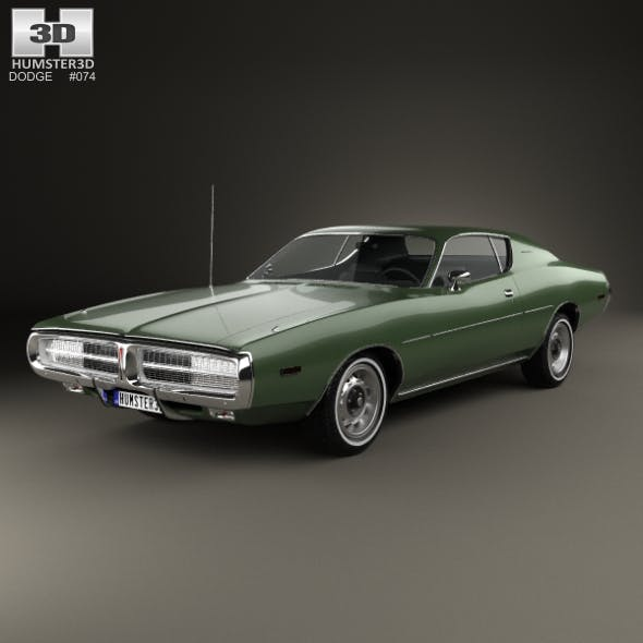 Dodge Charger 1972 - 3DOcean Item for Sale