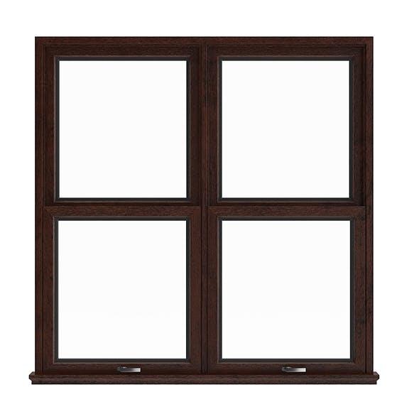 Wooden Window (143.5 x 140 cm)