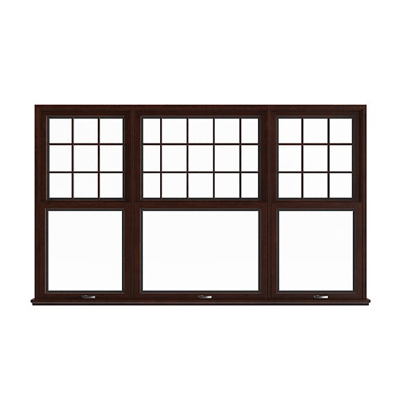 Wooden Window (143.5 x 238 cm)