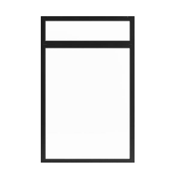Metal Window (250 x 160 cm) - 3DOcean Item for Sale