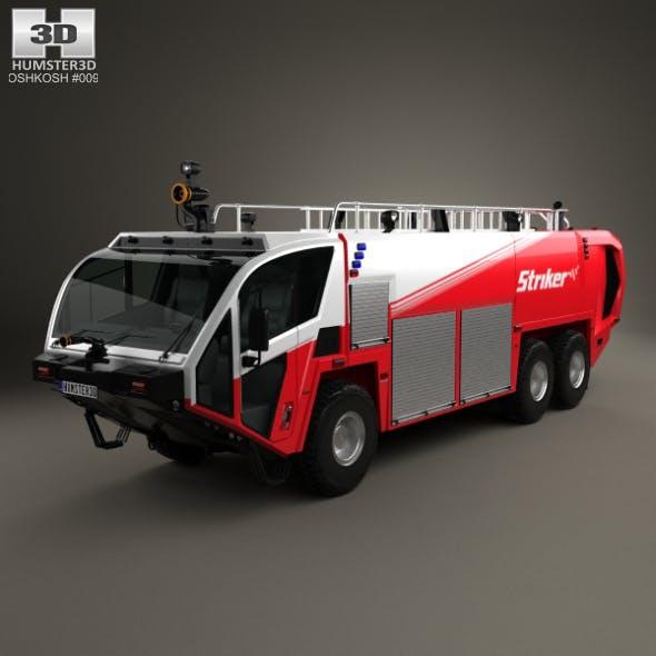 Oshkosh Striker 3000 Fire Truck 2010