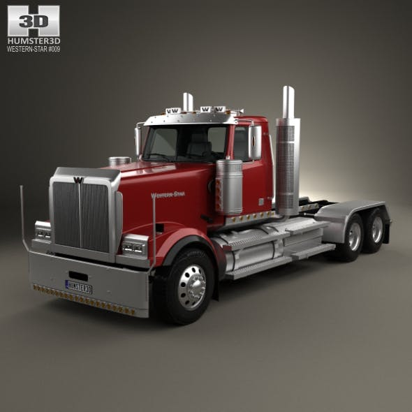 Western Star 4900 EX Tractor Truck 2008 - 3DOcean Item for Sale