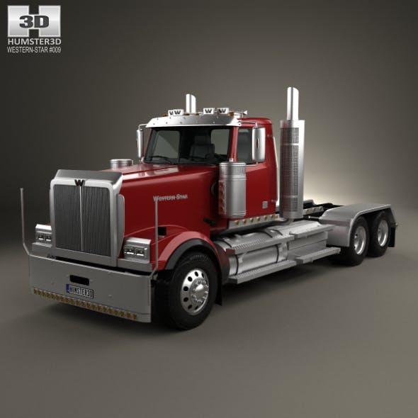 Western Star 4900 EX Tractor Truck 2008