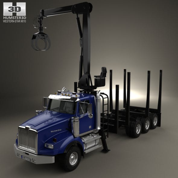 Western Star 4900 Logging Truck 2008