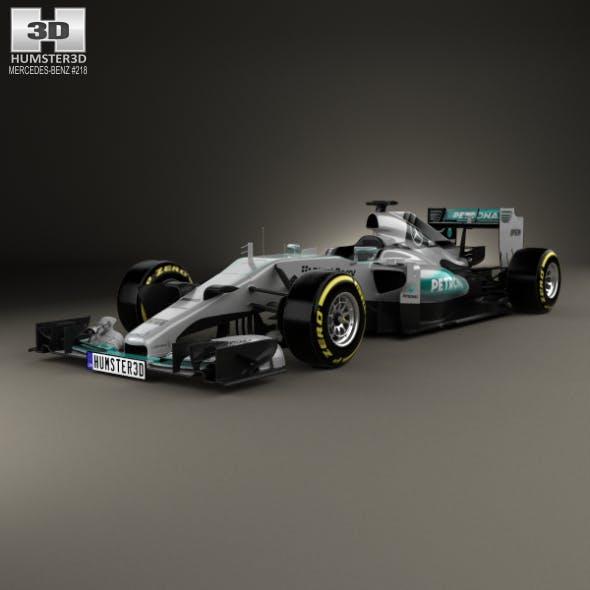 Mercedes-Benz F1 W06 Hybrid 2015