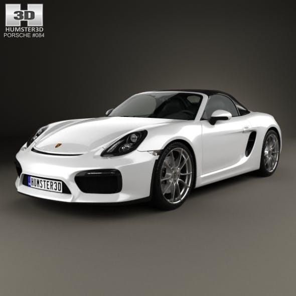 Porsche Boxster 981 Spyder 2016 - 3DOcean Item for Sale