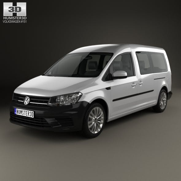 Volkswagen Caddy Maxi Trendline 2015 - 3DOcean Item for Sale
