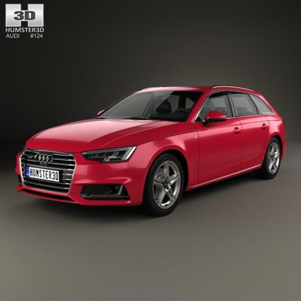 Audi A4 S-Line (B9) avant 2016 - 3DOcean Item for Sale