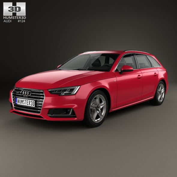 Audi A4 S-Line (B9) avant 2016