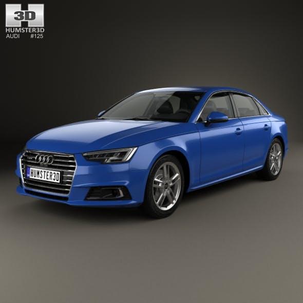 Audi A4 (B9) sedan 2016 - 3DOcean Item for Sale
