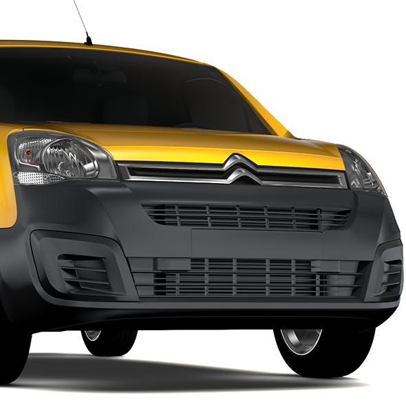 Citroen Berlingo Van L2 2slidedoors 2017 - 3DOcean Item for Sale