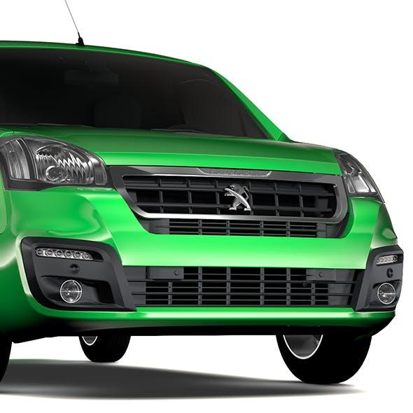 Peugeot Partner Van L2 2slidedoors 2017 - 3DOcean Item for Sale