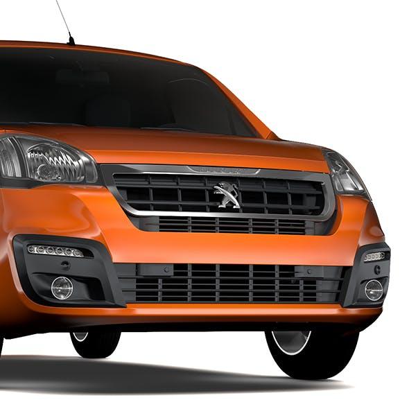 Peugeot Partner Van L2 2017 - 3DOcean Item for Sale