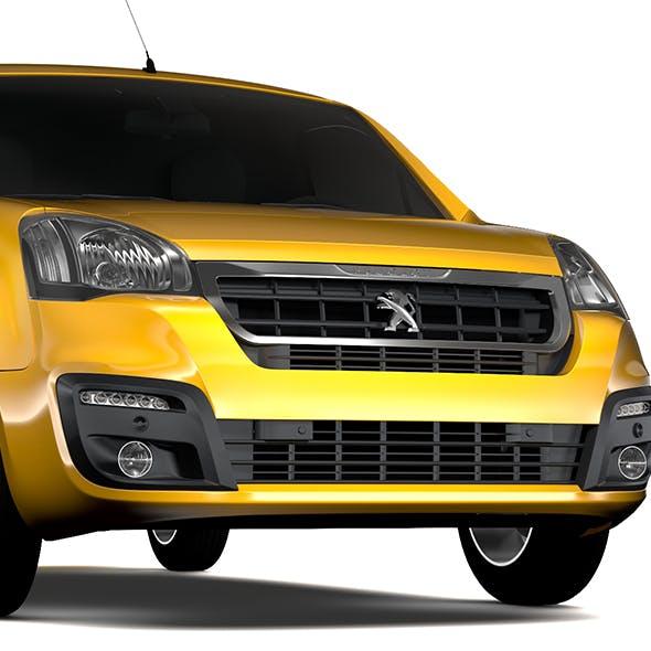 Peugeot Partner Van L2 Electric 2017 - 3DOcean Item for Sale