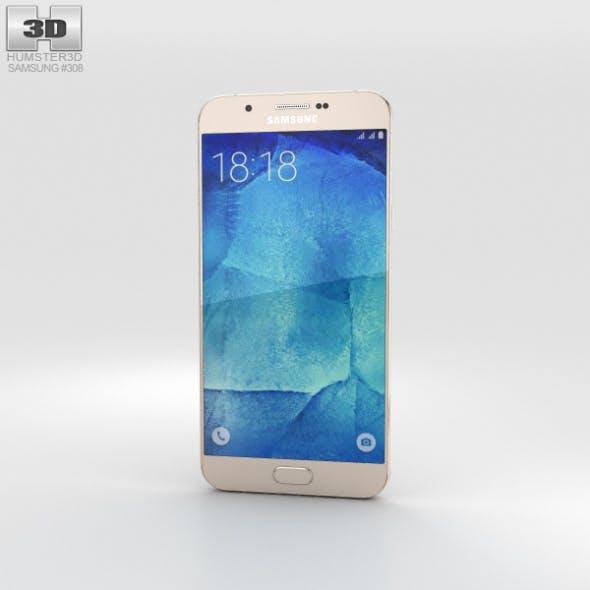 Samsung Galaxy A8 Champagne Gold