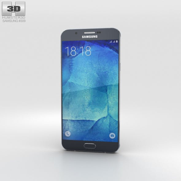 Samsung Galaxy A8 Midnight Black - 3DOcean Item for Sale
