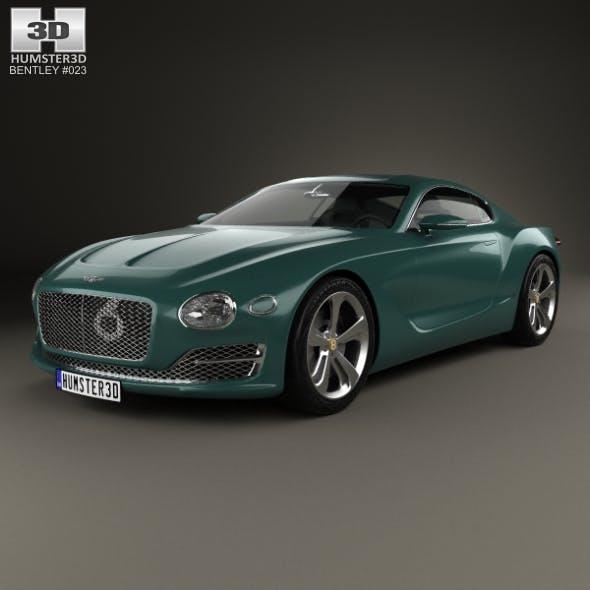 Bentley EXP 10 Speed 6 2015 - 3DOcean Item for Sale