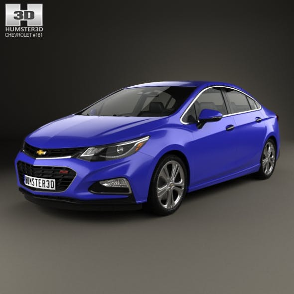 Chevrolet Cruze Premier RS 2016 - 3DOcean Item for Sale