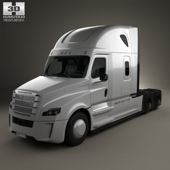 Freightliner Inspiration Tractor Truck 2015 - 3DOcean Item for Sale
