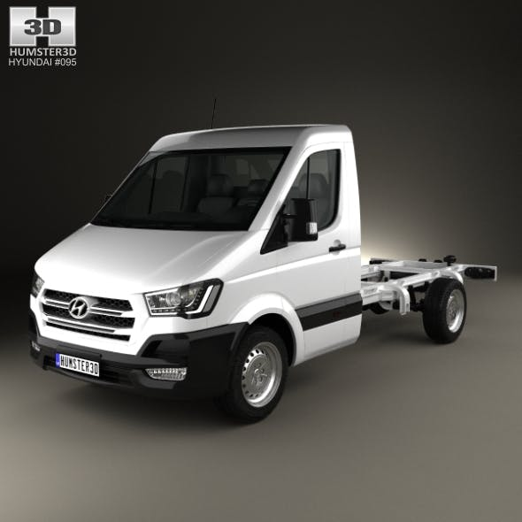 Hyundai H350 Cab Chassis 2015 - 3DOcean Item for Sale