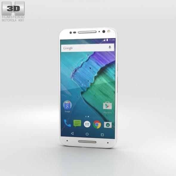 Motorola Moto X Style White - 3DOcean Item for Sale