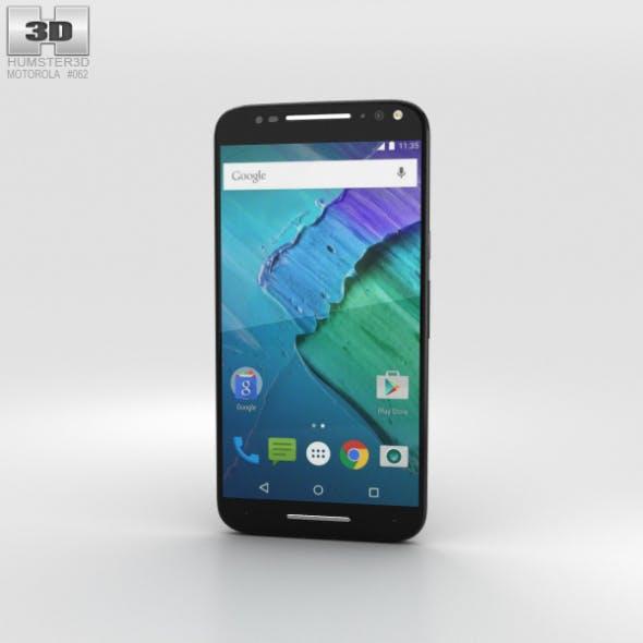 Motorola Moto X Style Black - 3DOcean Item for Sale