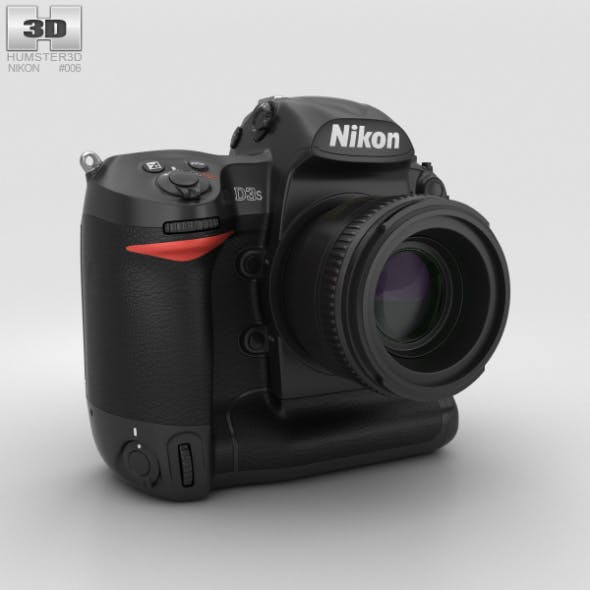 Nikon D3S - 3DOcean Item for Sale