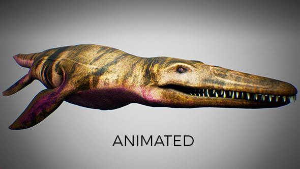 Ocean Pliosaur Mosasaurus - 3DOcean Item for Sale