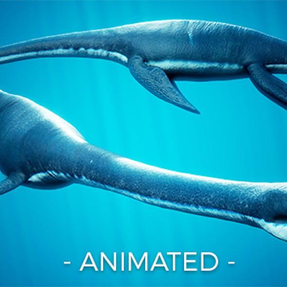Ocean Plesiosaur Elasmosaurus