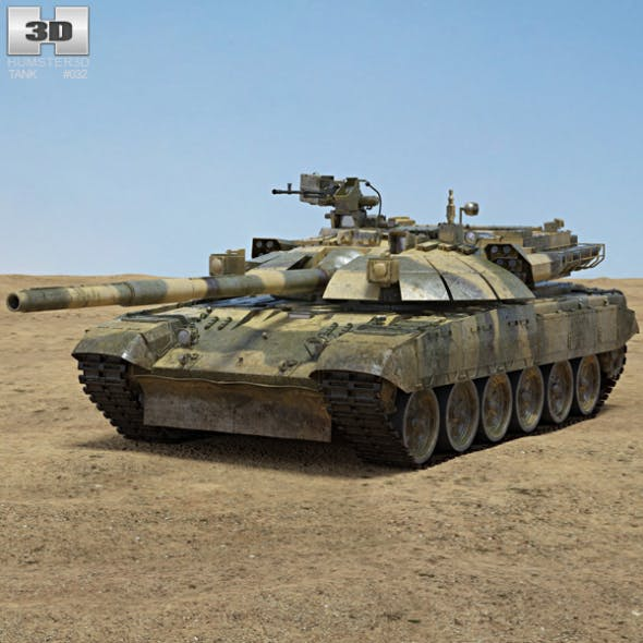 T-72 - 3DOcean Item for Sale