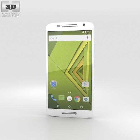 Motorola Moto X Play White - 3DOcean Item for Sale