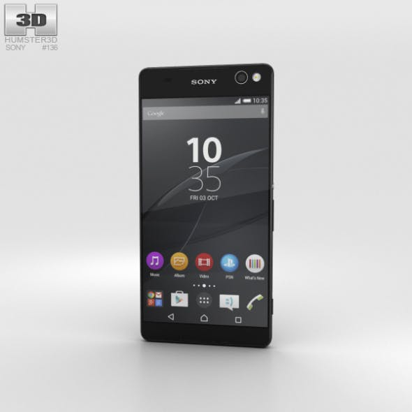 Sony Xperia C5 Ultra Black - 3DOcean Item for Sale