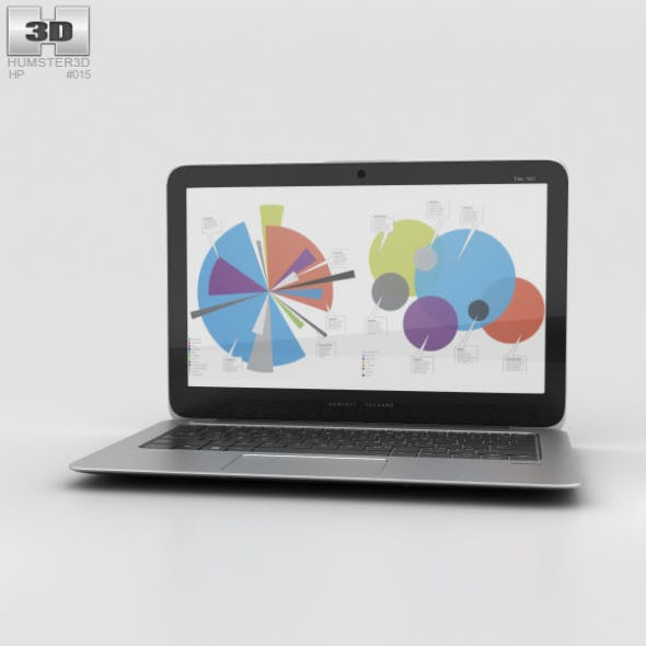HP EliteBook Folio 1020 G1 - 3DOcean Item for Sale