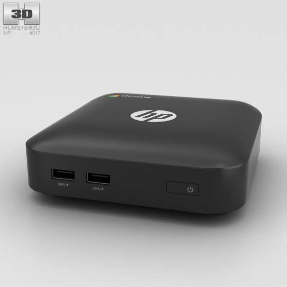 HP Chromebox Black - 3DOcean Item for Sale