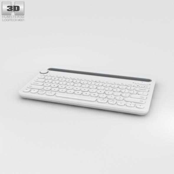 Logitech K480 White - 3DOcean Item for Sale