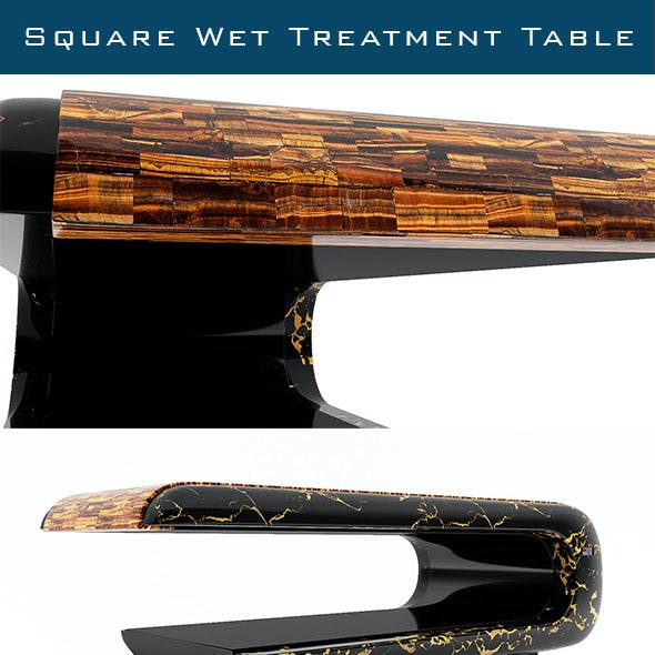Square Wet Treatment Table