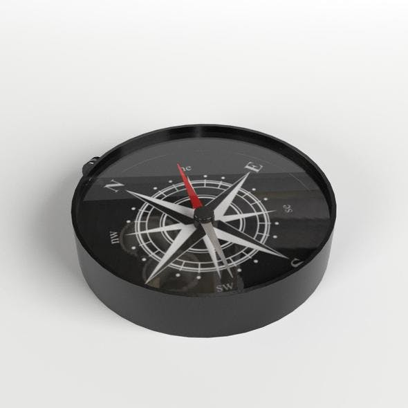 Toy Compass - 3DOcean Item for Sale
