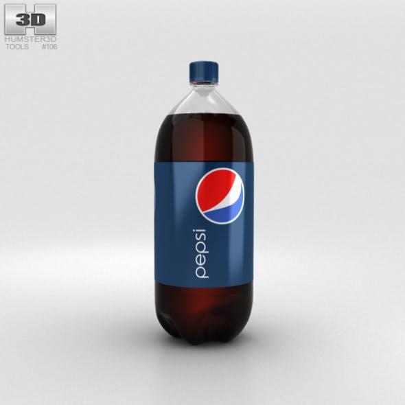 Pepsi Bottle 2L - 3DOcean Item for Sale