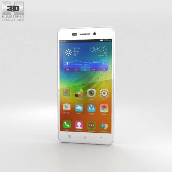Lenovo S60 Pearl White - 3DOcean Item for Sale
