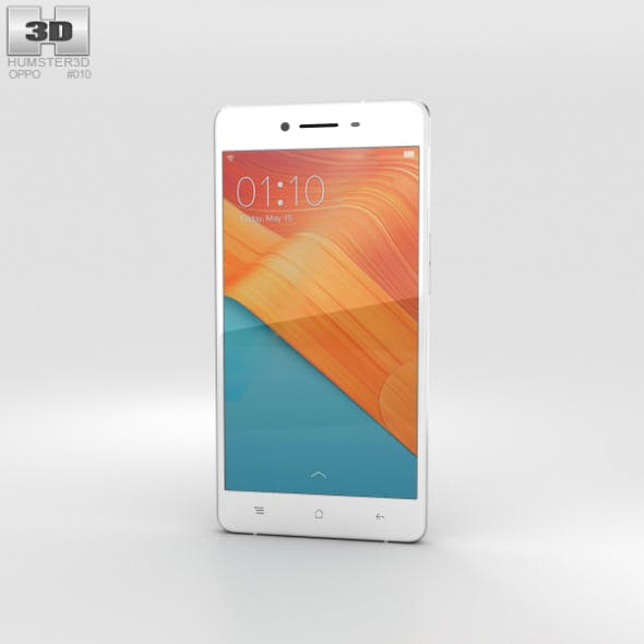 Oppo R7 Silver - 3DOcean Item for Sale