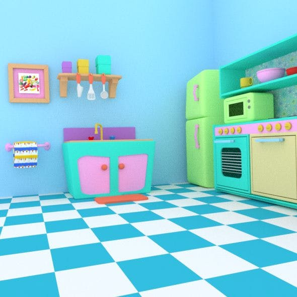 Kid Play Kitchen